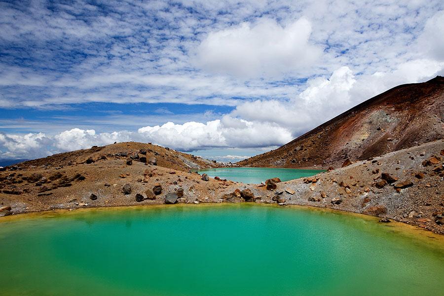 Emerald Lakes, Nordinsel Neuseeland, 2011